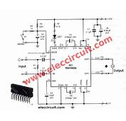 Car Audio Amplifier Circuit 50W 65W  ElecCircuitcom