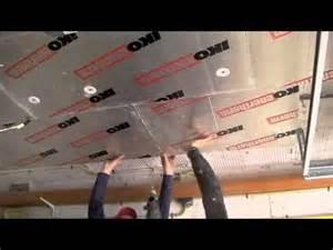 isolation du plafond d un garage ou d une cave