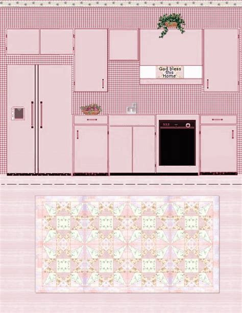 printable paper kitchen paper crafts playsets dwellings furniture ammey s