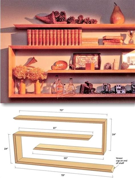 home decor shelves 25 diy ideas for cheap and home decor sky rye design