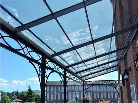 tettoie trasparenti tettoie trasparenti in policarbonato e vetro cose da
