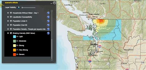 earthquake washington state just how devastating will earthquakes be in washington