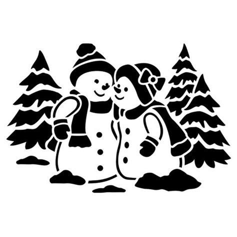 Weihnachtsdeko Fenster Schablonen by Fenster Kunststoff Schablone Din A4 Schneemannp 228 Rchen