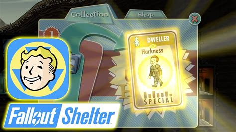 Best Item Kaos The Power Legendaries Zero X Store fallout shelter harkness dweller card fallout shelter gameplay hd