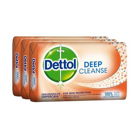 Sabun Mandi G jual dettol cleanse anti bakteri sabun mandi 105 g 3