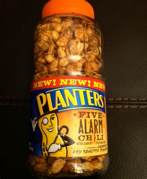 Planters Spicy Peanuts by Planters Five Alarm Chili Roasted Peanuts Awkward