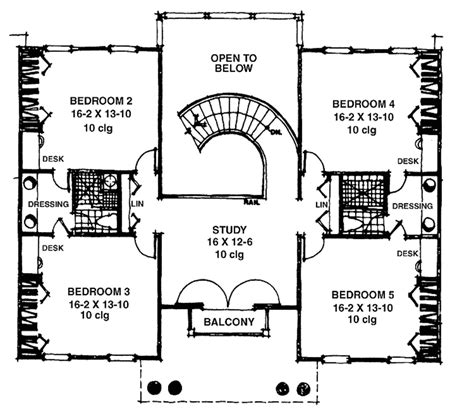 nottoway plantation floor plan southern style house plan 5 beds 3 baths 4395 sq ft plan