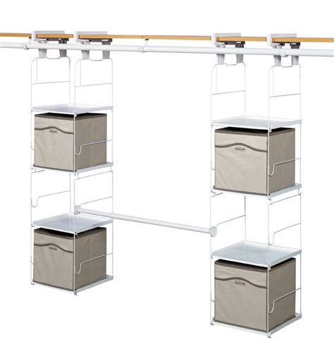 Closet Max by Make Your Closet Better The Rubbermaid Max Add On Closet