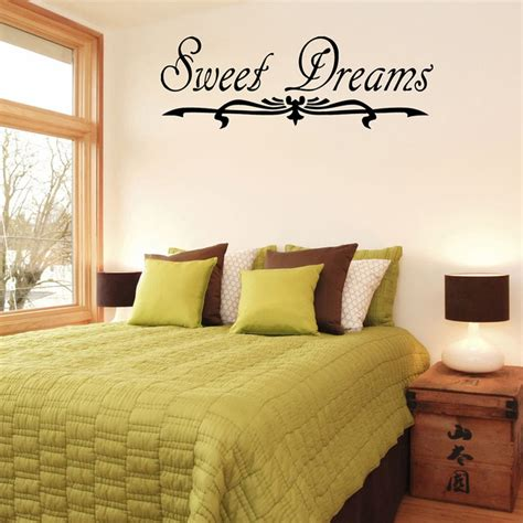 sweet dreams wall stickers sweet dreams vinyl wall decal contemporary wall decals by overstock