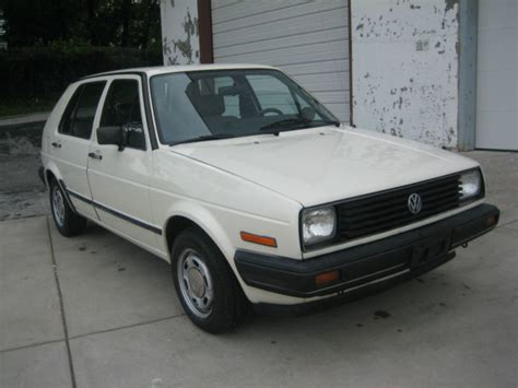 volkswagen golf 1985 1985 volkswagen golf 4 door hatchback mk2 original low