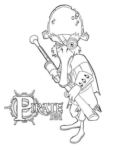 Coloring Pages 101 by Pirate101 Coloring Pages Coloring Pages