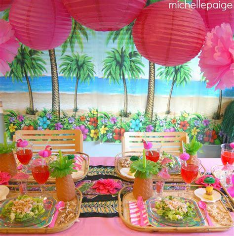 birthday themes hawaii michelle paige blogs hawaiian birthday party