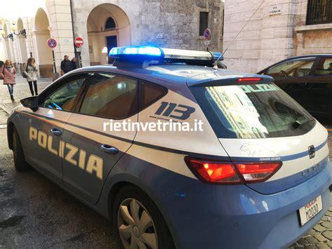 ufficio postale fermo poste via garibaldi polizia ferma una donna andata in