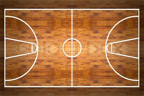 images of basketball court aerial view of a hardwood basketball court stock photo