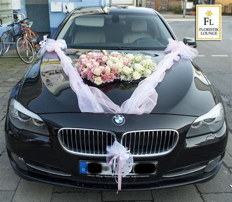 Auto Blumenschmuck F 252 R Ihre Hochzeit Autoschleifen Auto