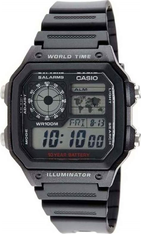 Casio Ae 1200wh 1avdf casio collection ae 1200wh 1avef skroutz gr