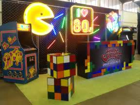 80s decor 80s decor ideas pac man neon rubik s cube vintage