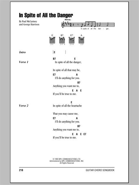swing life away chords mgk in spite of all the danger sheet music direct