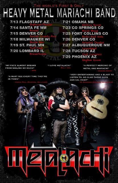 Heavy Metal Detox Santa Fe New Mexico by Metalachi Announce Summer Tour Dates Bravewords