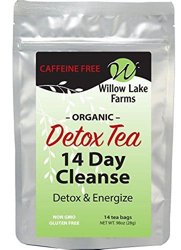 Mint Detox Tea by 14 Day Mint Detox Tea Organic Cleanse Decaffeinated