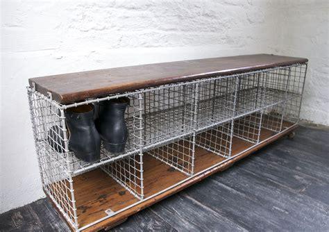 vintage shoe storage bench school shoes vintage shoe storage bench