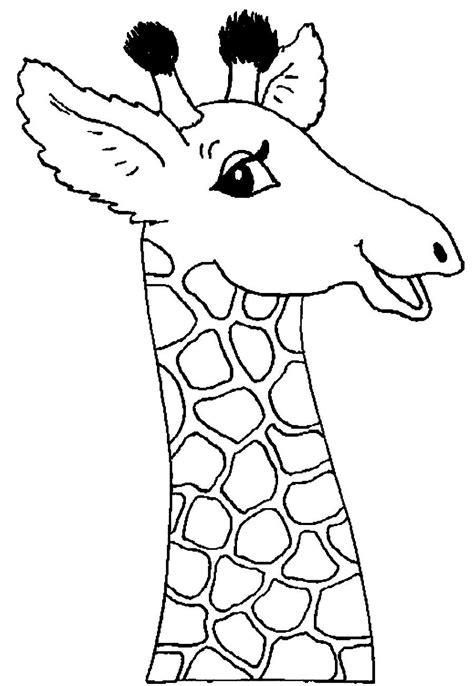 coloring pages of a giraffe free coloring pages of baby giraffe