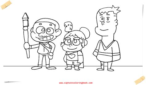 the coloring page craig of the creek coloring page printable coloring page