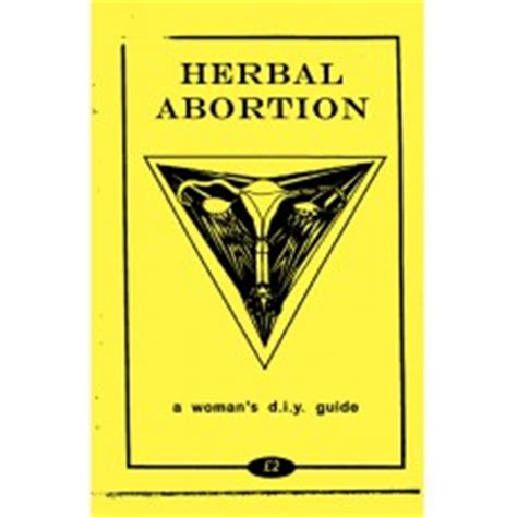 herbal abortion a s diy guide