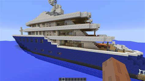 minecraft boat map download cakewalk yacht for minecraft
