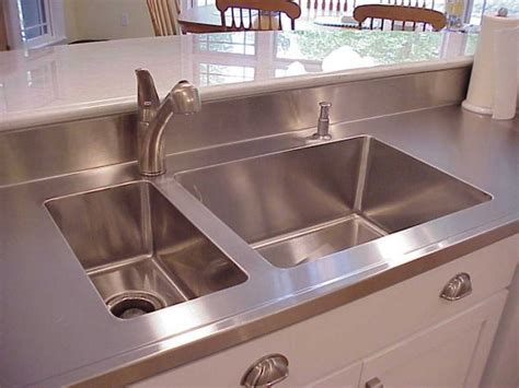 Cost Of Stainless Steel Countertops by Countertops More St Louis Mo Stainless Steel Page