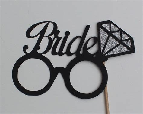 wedding props template wedding photo booth props glasses with by