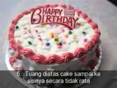 youtube membuat kue ulang tahun cara membuat kue ulang tahun 360p youtube