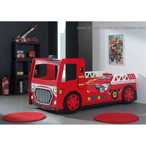 lit camion de pompier