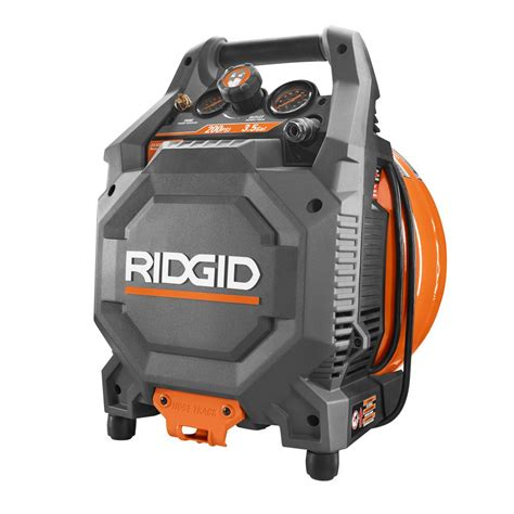 ridgid 3 5 gal 200 psi vertical pancake compressor of35200vp the home depot