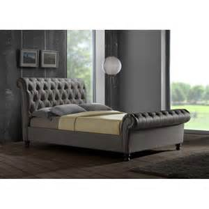 grey bed grian furnishers grey king bed frame