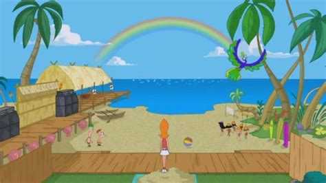 phineas and ferb backyard backyard beach revealed beautiful pic phineas and ferb photo 18802929 fanpop