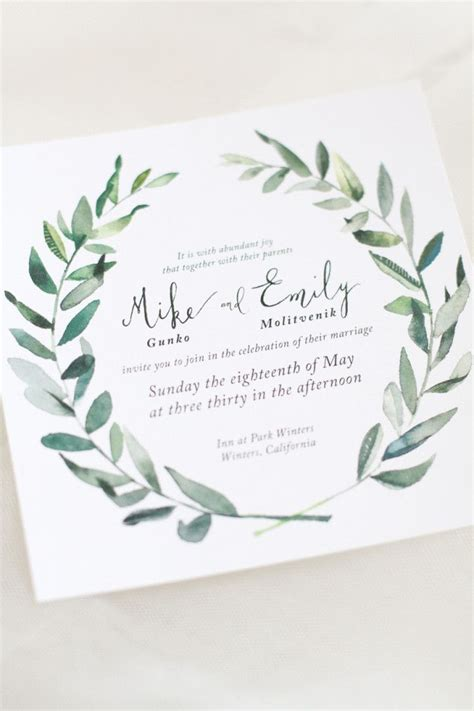 25 best ideas about wedding invitations on wedding invitation inspiration diy