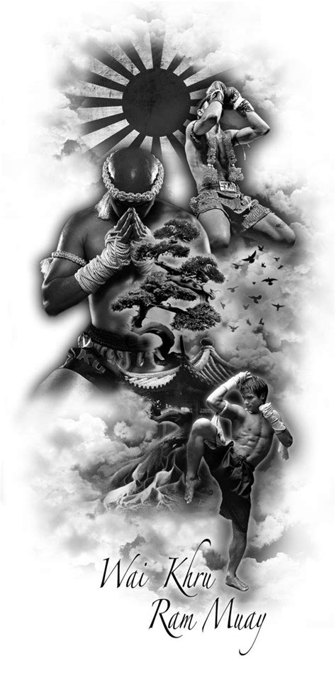muay thai tattoo designs best 25 muay thai ideas on thai