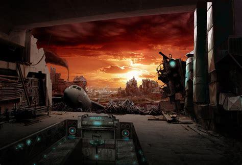 picture of a l post 10 vues d artistes de mondes post apocalyptiques la vidure