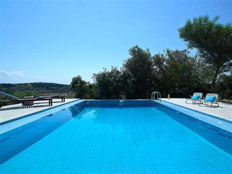 large pool alektor deluxe villa authentic crete villas in crete specialists