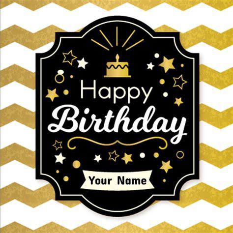 Golden Birthday Card Golden Birthday Card Gangcraft Net