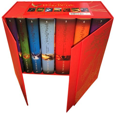 harry potter the wand collection book books harry potter complete collection 7 books set collection j