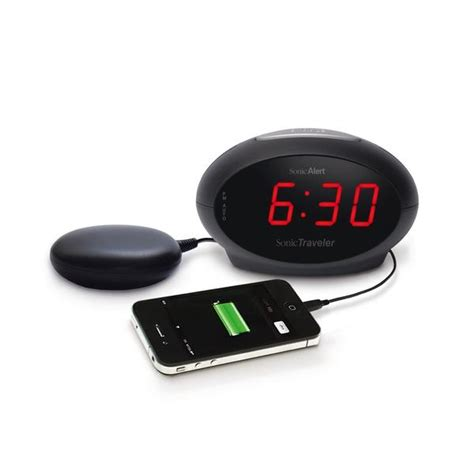Alarm Mobil Sonic sonic traveler alarm clock with a usb charging socket
