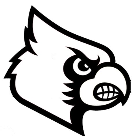 U Of L Coloring Pages by Free Coloring Pages Of Of Louisville Cardinal