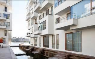 03 modern harbor apartment design sea front building det