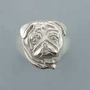 silver pug ring sterling silver pug jewelry 14k 9 inc designers of quality gold silver jewelry
