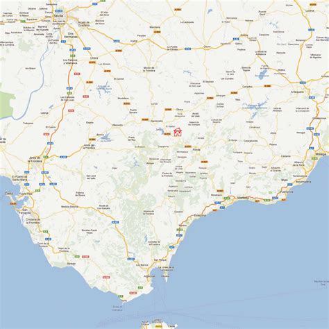 southern spain map home for rent near ronda andalucia southern spain