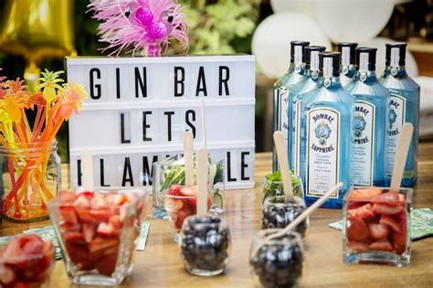Gin Bar Accessories Decor How To Create Your Own Gin Bar