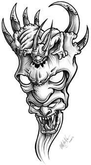 demon tattoo design tattoo com