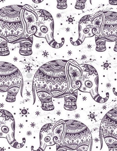 elephant pattern tumblr image gallery indie elephant wallpaper